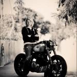 Classified Moto custom for Katee Sackhoff