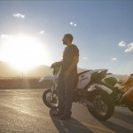 Adrian Capurso and his dual sport hooligan bike