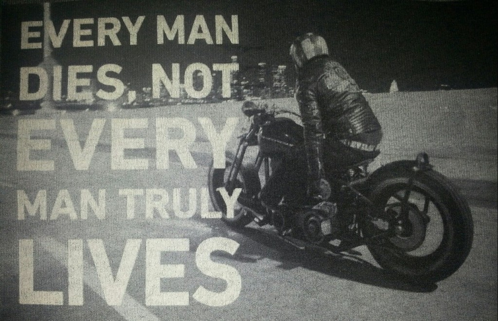 every man dies but not every A translation would be welcome every man dies, not every man really lives.