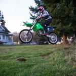 Little dirtbike jump