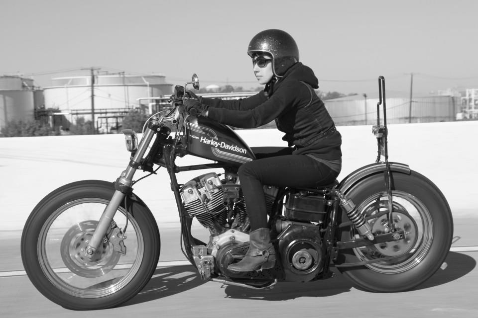vintage milfs riding motorcycles photos