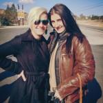 Lanakila MacNaughton of the Women's Moto Exhibit and Alicia Mariah Elfving of the MotoLady website