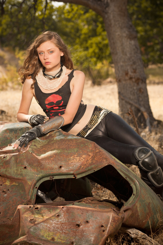 coyote velten mad max motorcycle girl moto lady