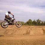 Jamie Robinson of MotoGeo gets some 2stroke air