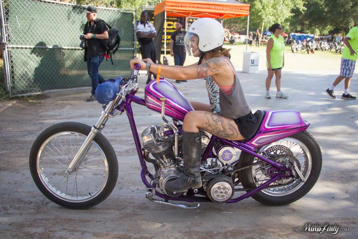 Purple Archives Moto Lady Pink Harley Davidson Motorcycle Yuri At Born Free 6