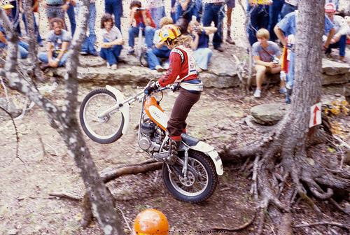 Debbie Evans Debbie Evans Motorcycle Maven amp Trick Trialist Moto Lady