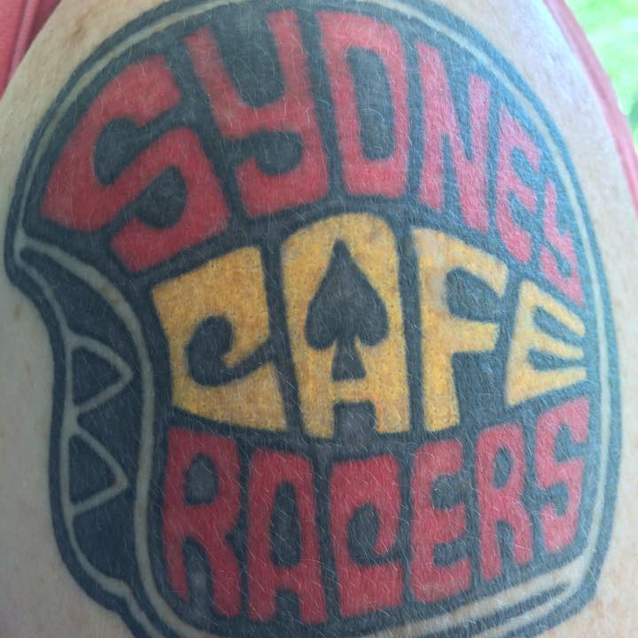 Liz's SCR shoulder tattoo