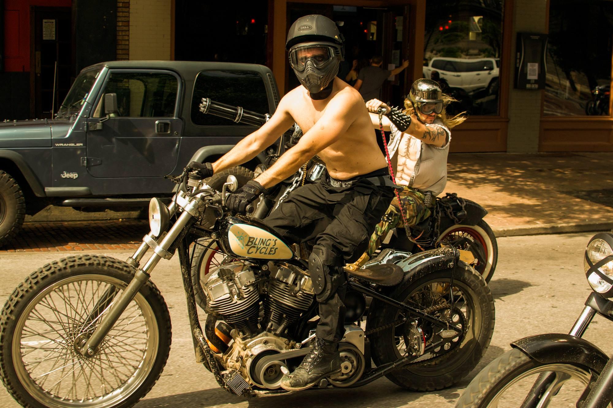 austin ride  mad max fury road moto lady