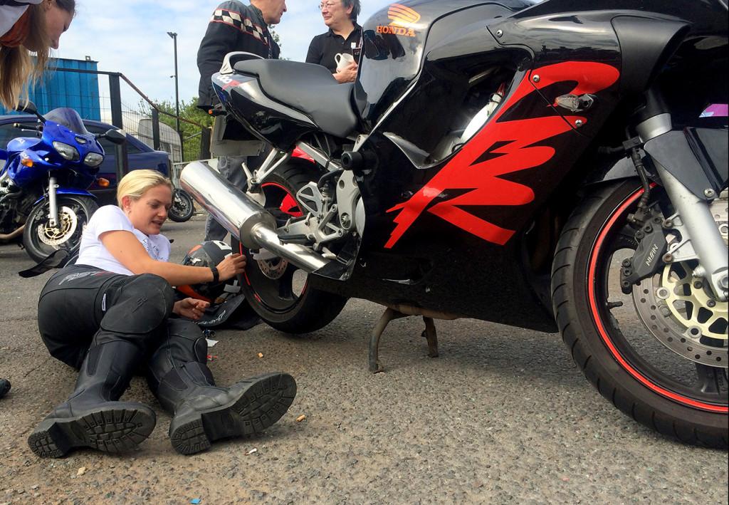 biker babes show all