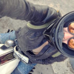 Alicia Elfving of MotoLady - custom Ducati Monster