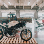 the MotoLady Ducati Monster 750 custom and Rae Ripple's Apache art truck