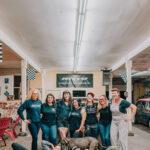 The Real Deal Revolution ladies at Kristin Kline's shop!