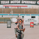 Alicia aka MotoLady and Katie take a ride on the Super73